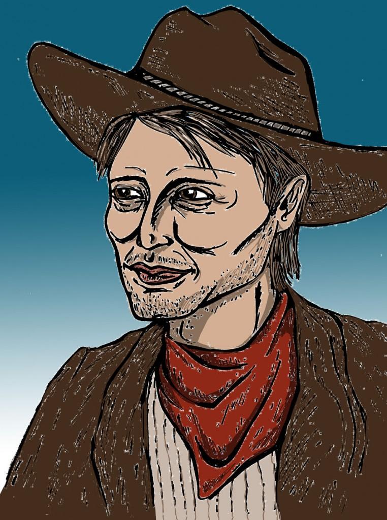 Mads Mikkelsen Cowboy