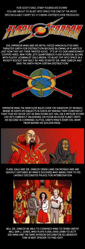 Flash Gordon Page 1