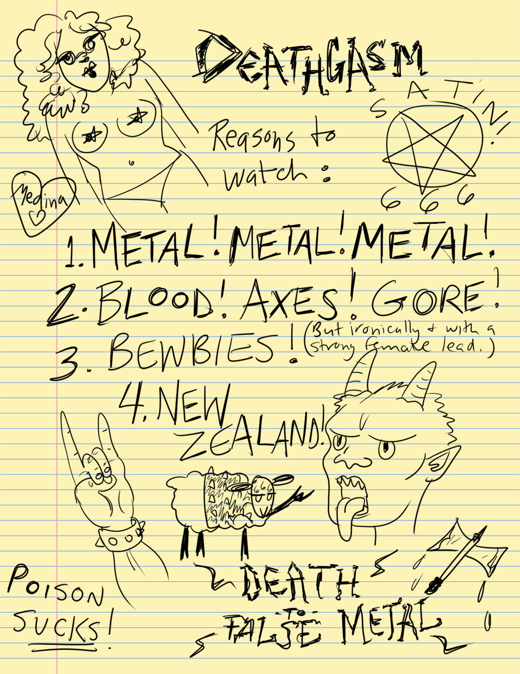 Death to False Metal!