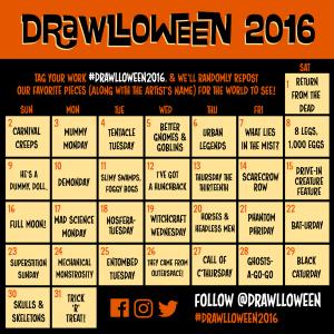 #drawlloween