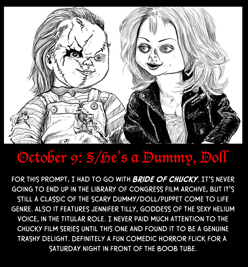 October 8: S/He's a Dummy, Doll