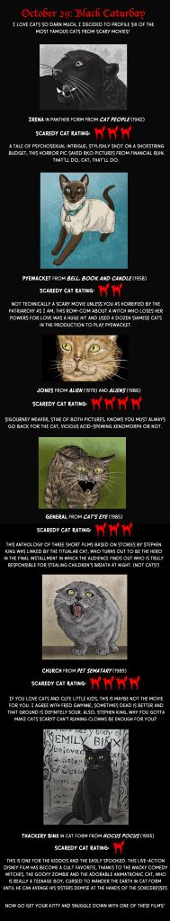 Scary Movie Cats!