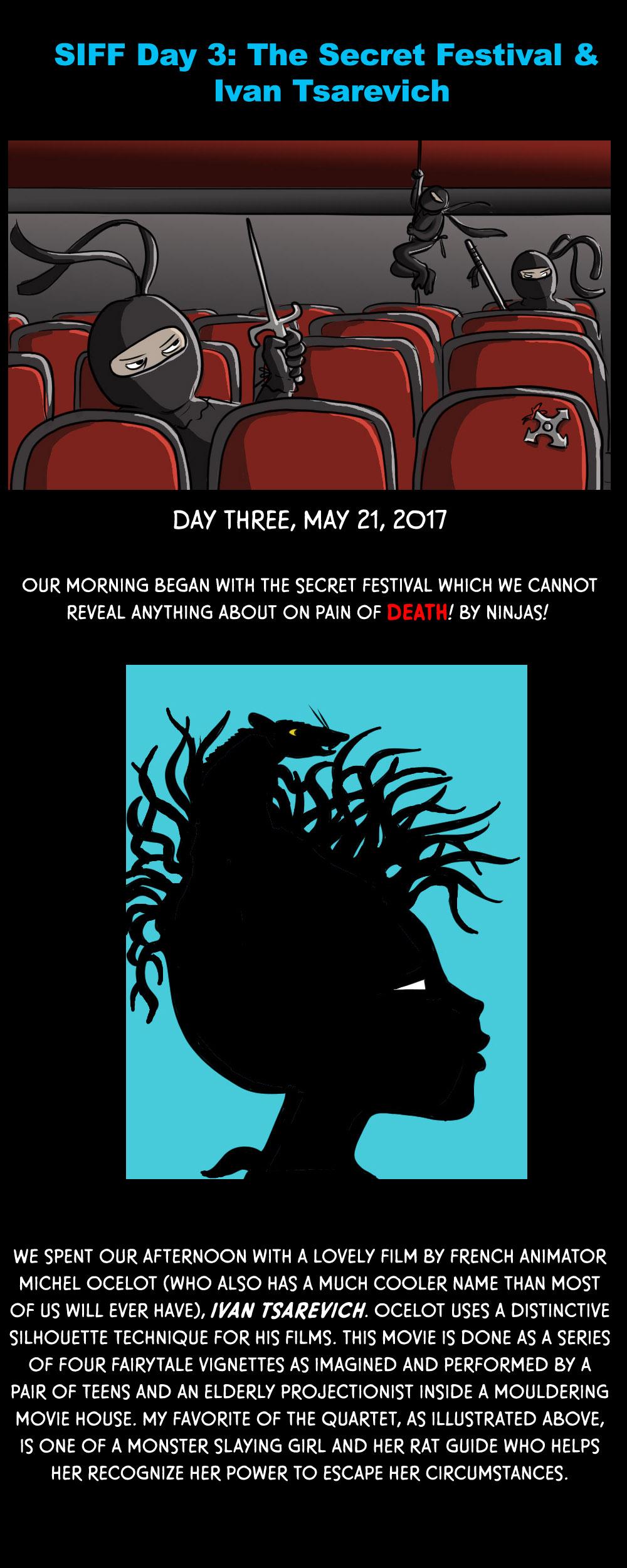 SIFF Day 3: The Secret Festival and Ivan Tsarevich