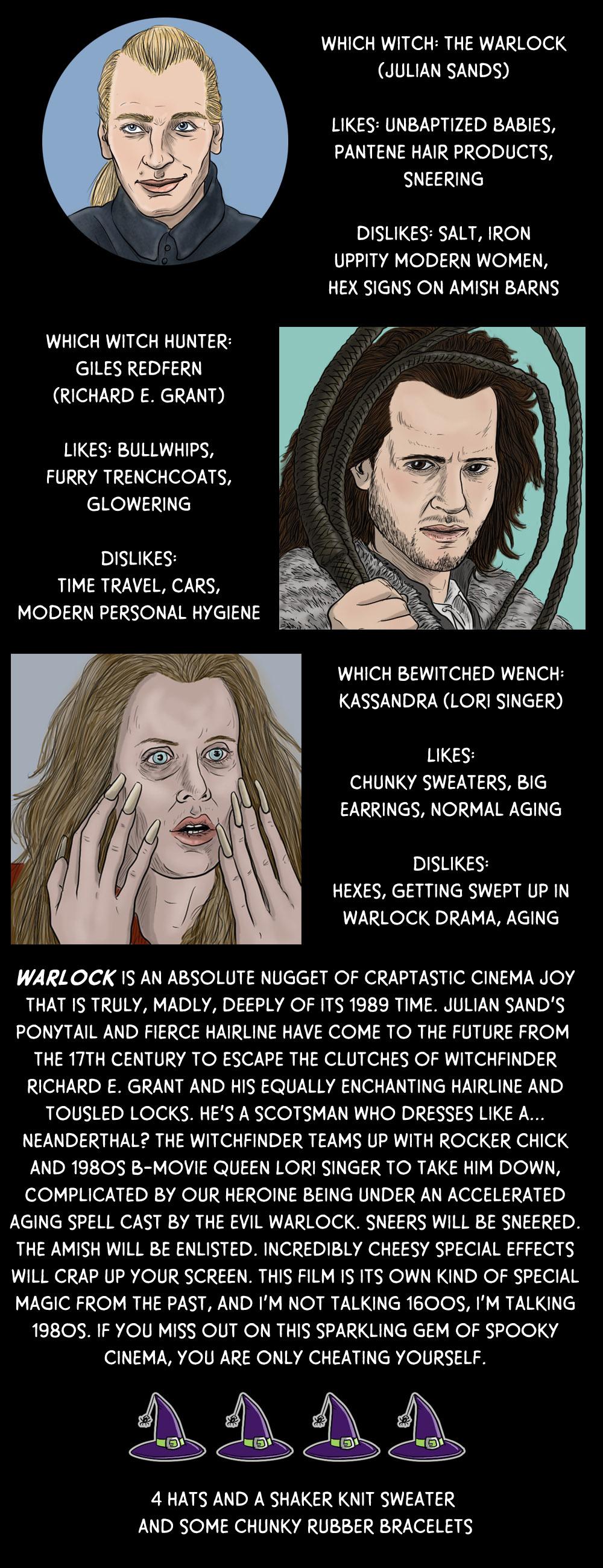 October 4: Warlock