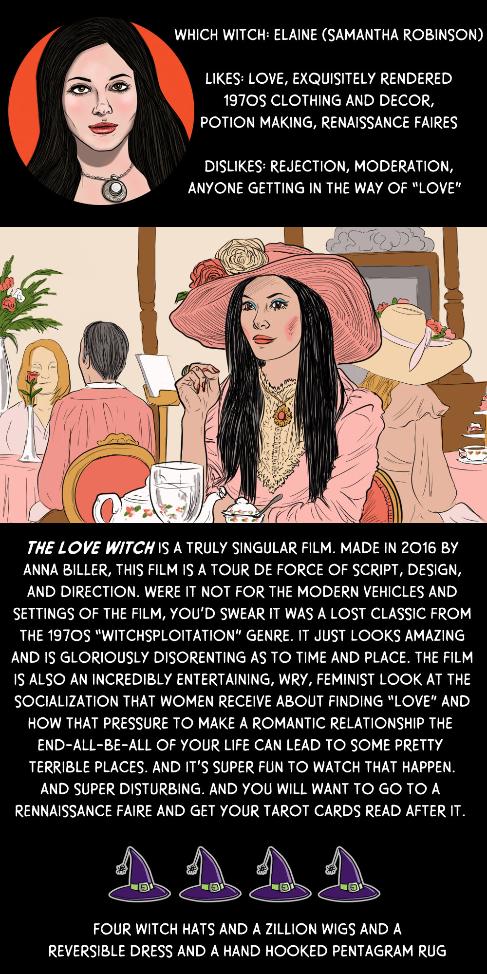 October 6: The Love Witch